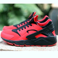 Nike Drops the Air Huarache Ultra Sports shoes Red-black