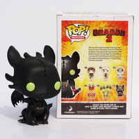 FUNKO POP Dragon 2 Cartoon How to train your dragon toothless PVC Figure toy 10cm With Box