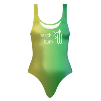Beach Bum Ombre' One Piece Swimsuit