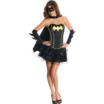 Batgirl Flirty Adult Halloween Costume - Walmart.com