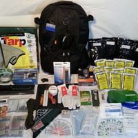 Deluxe 2+ person survival bug out bag