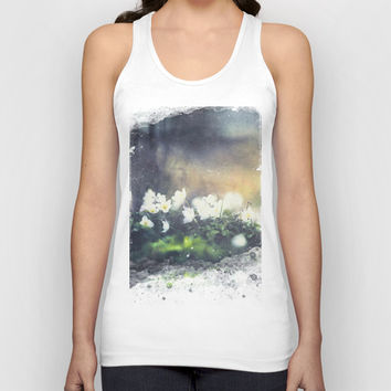 Rugged beauty Unisex Tank Top by HappyMelvin