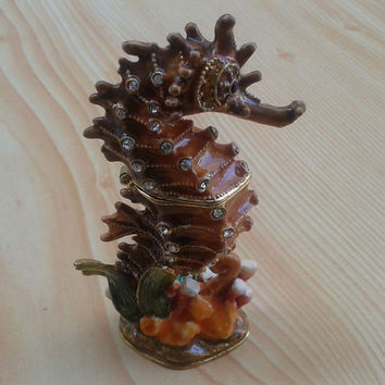 Nereid nymphs Homemade Solid Perfume in seahorse. Hippocampus, hippocamp