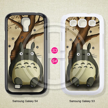 Phone cases, My Neighbor Totoro, Samsung Galaxy S3 Case, Samsung Galaxy S4 Case, Case for Samsung Galaxy, Cover Skin -S0298