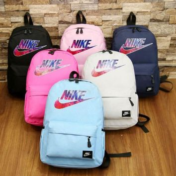 "THE tourtownbeach : ""NIKE"" Trending Fashion Sport Laptop Shoulder School Bag Canvas Backpack"