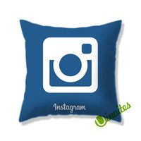 Instagram Logo Square Pillow Cover