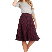 ModCloth Long Full Always Memorable Skirt