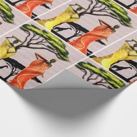 Woman in the Garden Wrapping Paper