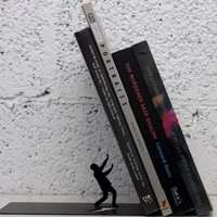 Falling Books Bookend | The Gadget Flow