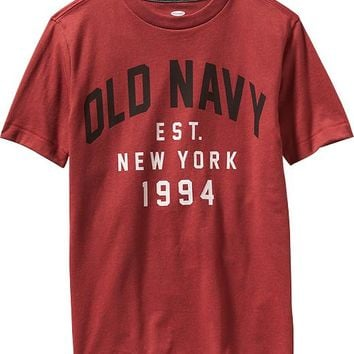 Old Navy Boys Go Dry Graphic Tee
