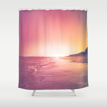 Summer Shower Curtain by HappyMelvin