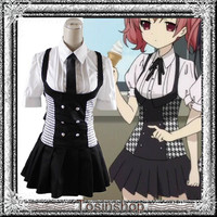 Stock shelf * cosplay costume demon Fox X my SS-white chiyuri / kurashima Palace Carta summer-clothes