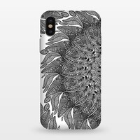 Mandala Leaf Universe Meditation - StrongFit iPhone X Cases | ArtsCase