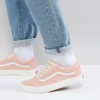 Vans Old Skool Sneakers In Pink VA38G1QSK at asos.com