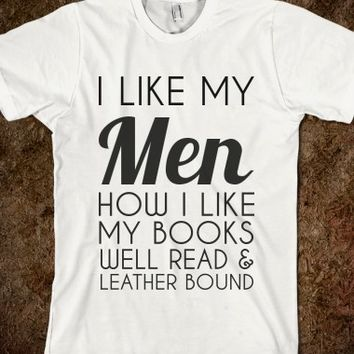 I LIKE MY MEN HOW I LIKE MY BOOKS
