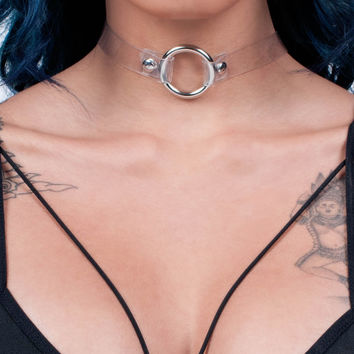 Sphere Clear Choker