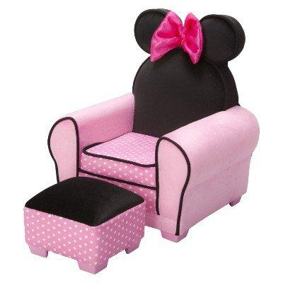Disney Minnie Mouse Chair & Ottoman from Tar