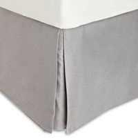 Calvin Klein Lilacs Small Diamond King Bedskirt Ash