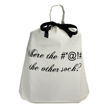 Where the *@# is the other sock? Travel Bag