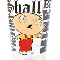 ICUP Glass Family Guy Quotes Pint in Clear