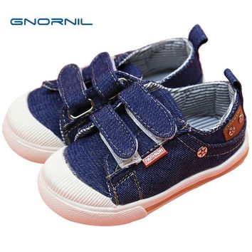 Kids Shoes for Girls Boys Sneakers 2018 Spring Autumn Jeans Canvas Children Casual Shoes Denim Running Sport Baby Boys Shoes