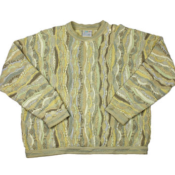 Vintage Coogi Sweater Made in Australia Mens Size XL