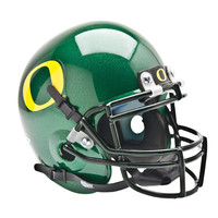 Oregon Ducks NCAA Authentic Mini 1-4 Size Helmet (Alternate w- GD Decal 1)