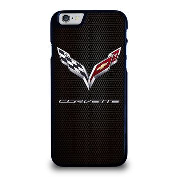 CORVETTE CHEVY ON HEXAGON CARBON iPhone 6 / 6S Case Cover