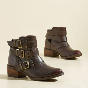 Buckle Under Leisure Bootie | Mod Retro Vintage Boots | ModCloth.com