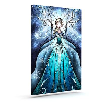 "Mandie Manzano ""The Snow Queen"" Frozen Canvas Art"