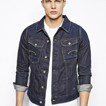 G-Star Denim Jacket Dark Aged
