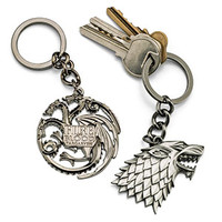 Game of Thrones Crest Keychains