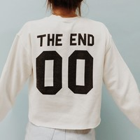 NANCY THE END 00 SWEATSHIRT