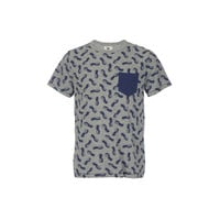 Paradise City Pineapple Tee Grey