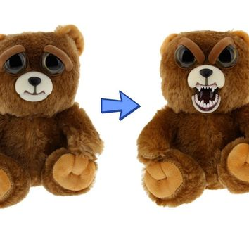 "Feisty Pets Sir Growls-A-Lot- Adorable 8.5"" Plush Stuffed Bear"