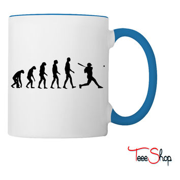 baseball evolution Coffee & Tea Mug
