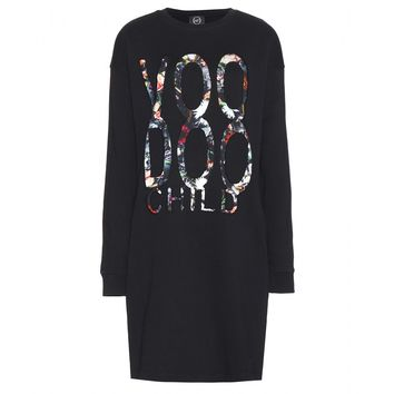 mcq alexander mcqueen - cotton sweater dress