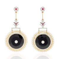 One-Of-A-Kind Circle Of Life Earrings | Moda Operandi