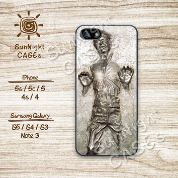 Star War, Han Solo, Frozen, iPhone 5 case, iPhone 5C Case, iPhone 5S case, Phone case, iPhone 4 Case, iPhone 4S Case, Phone Skin, chs04
