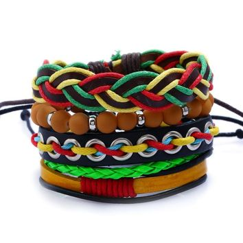 New Arrival Gift Shiny Hot Sale Stylish Awesome Great Deal Handcrafts Set Punk Bracelet [250989150237]
