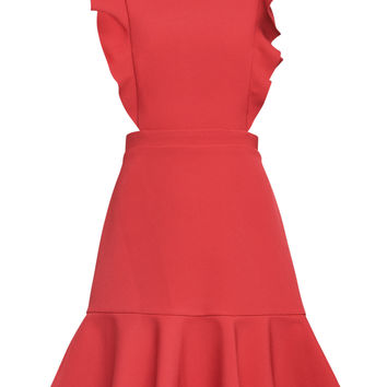 Nicole Cutout A-Line Dress