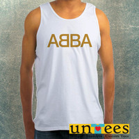 ABBA Logo Clothing Tank Top For Mens