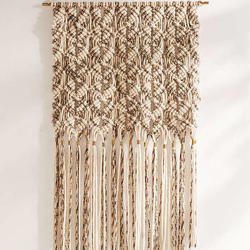 Marled Macrame Oversized Wall Hanging | Urban Outfitters
