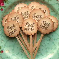 Eat Me  Alice in Wonderland Inspired Party by SweetlyScrappedArt