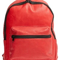 Junior Women's Nila Anthony Perforated Faux Leather Backpack