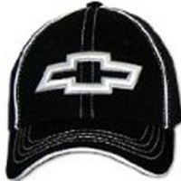 Chevy BOWTIE 3D Fitted Flexfit Fine Embroidered Hat Cap