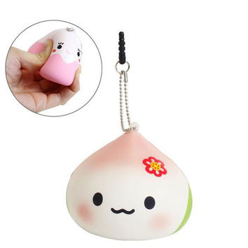 Juju Chan and Friends Squishy Mascot Ball Chain Juju Chan