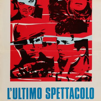 """Last Picture Show (1971) Vintage Italian Movie Poster from 1972 - 13"""" x 27.5"""""""