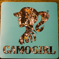 CAMOGIRL DECAL