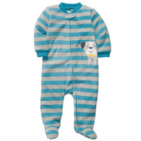 Microfleece Zip-Up Sleep & Play